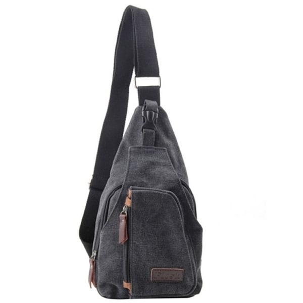Casual Canvas Backpack Satchel CrossBody Handbag Messenger Shoulder Bag For Men