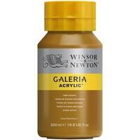 Winsor & Newton - Galeria Acrylic - 500ml Squeeze Bottle - Raw Sienna