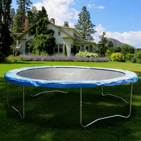 Gymax Blue 14 FT Round Frame Trampoline Safety Pad Replacement Cover