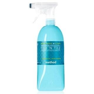 Method 583790 Tub & Tile Cleaner, Eucalyptus Mint, 28 Oz