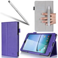 i-Blason-Apple iPad Air Smart Case Slim Folio- Book Shell Stand Cover-Purple