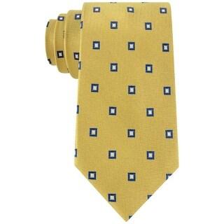 Club Room NEW Yellow Admiral Classic Neat Mens Neck Tie Silk Accessory