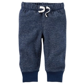 Carter's Baby Boys' Brushed Fleece Pull-On Pants- 24 Months