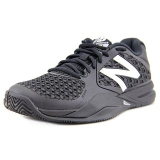 New Balance mc696wb2 Men Round Toe Synthetic Black Tennis Shoe