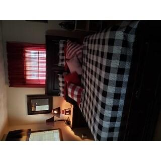 Copper Grove Lushnje Checkered Quilt Set