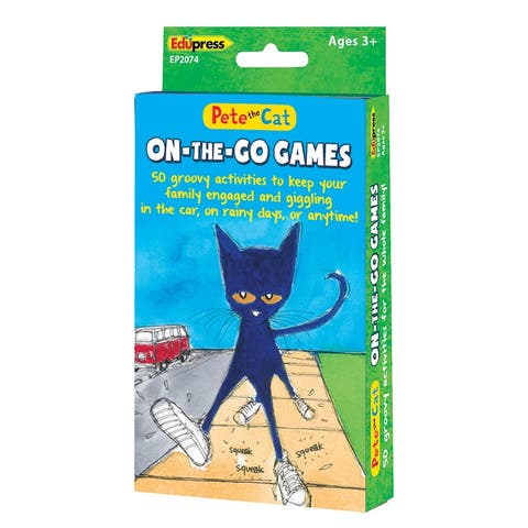 Edupress pete the cat on the go games 2074