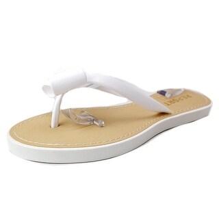 Report Jenski Open Toe Synthetic Thong Sandal