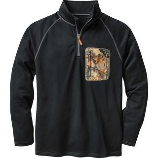 Legendary Whitetails Men's Marksman Quarter Zip Grid Fleece