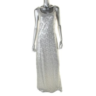 Laundry by Shelli Segal Womens Sequined Sleeveless Evening Dress - 2