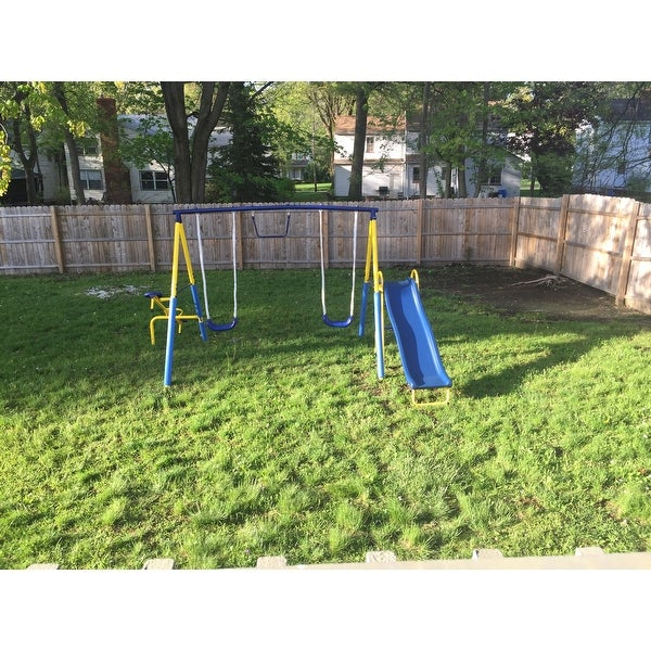 Shop Sportspower Super First Metal Swing Set On Sale Free