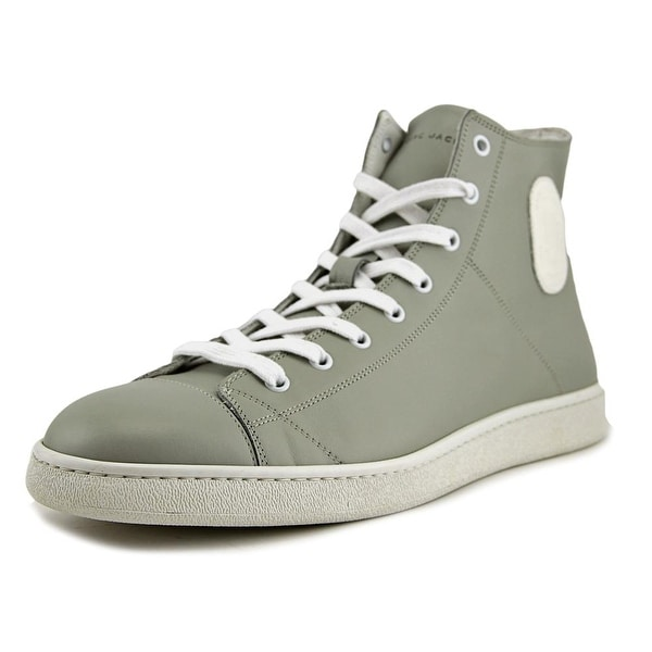 Marc Jacobs S87WS0 Women Leather Gray Fashion Sneakers