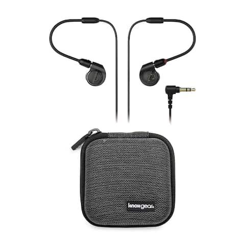 Audio-Technica ATH-E40 In-Ear Monitor Headphones with Earphone Case
