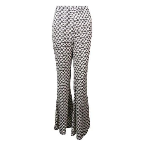 Bar III Womens Crepe Stretch Wide Leg Pants Black 4