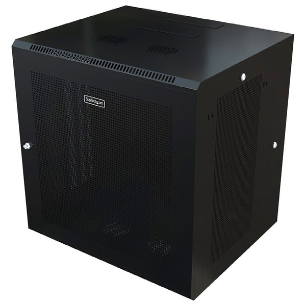 Startech.com rk1820walhm use this wall mount network cabinet to mount your server or networking equipment