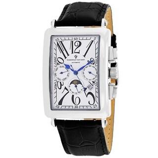 Christian Van Sant Men's Prodigy CV9131 White Dial Watch