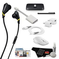 MacBook Air Ultimate Music & Podcast Accessory Bundle w/ Monster Diesel VEKTR In-Ear Headphones with ControlTalk