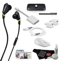 MacBook Pro Ultimate Music & Podcast Accessory Bundle w/ Monster Diesel VEKTR In-Ear Headphones with ControlTalk