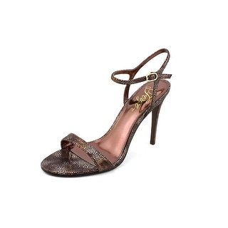 Fergie Roxane Open Toe Canvas Sandals