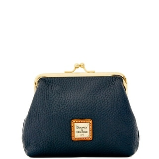 Dooney & Bourke Pebble Grain Large Framed Purse (Introduced by Dooney & Bourke at $58 in Dec 2014) - Midnight Blue