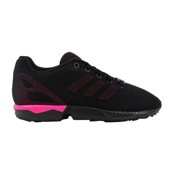 6eeac558f3562 Shop Adidas ZX Flux K Black Pink S74954 Pre-School - Free Shipping ...