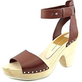 Dolce Vita Nalia Women Open Toe Leather Platform Sandal