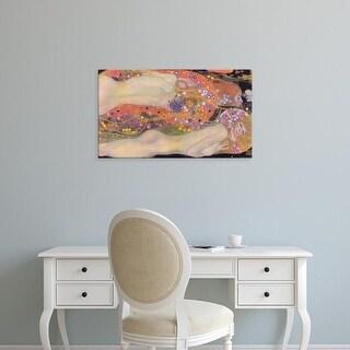 Easy Art Prints Gustav Klimt's 'Water Snakes II' Premium Canvas Art