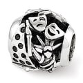 Sterling Silver Reflections Swarovski New York Collage Bead (4mm Diameter Hole) - Thumbnail 0