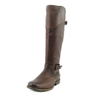 Frye Phillip Riding Round Toe Leather Knee High Boot