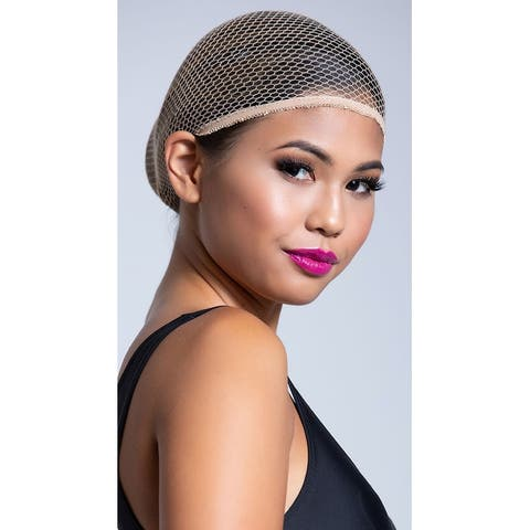 Nude Net Wig Cap, Nude Fishnet Wig Cap - One Size Fits Most