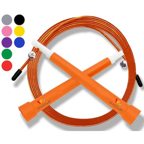 Wacces Deluxe Adjustable Double Unders Speed Jump Rope