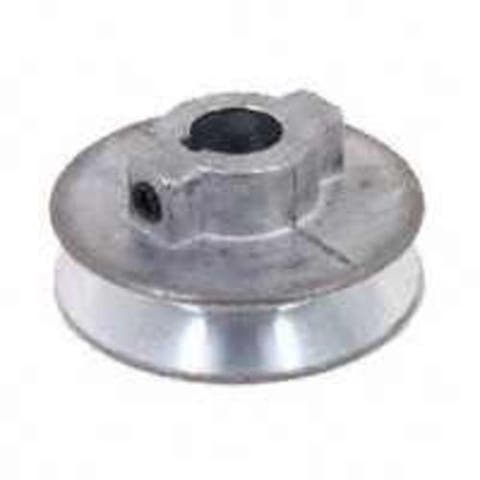 "Chicago Die Casting 450A Single V-Groove Pulley 1/2""X4.5"""