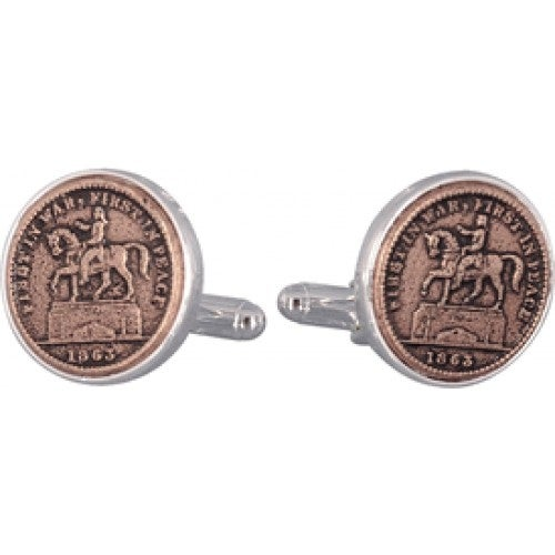 First In War First In Peace Cufflinks Coin Collector Memorbilla