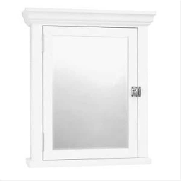 Surface Mount Medicine Cabinet In White