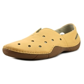 Propet Robin  W Round Toe Leather  Flats
