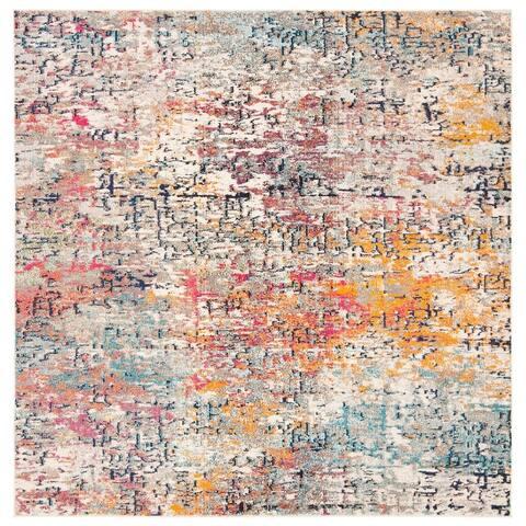 SAFAVIEH Madison Loane Modern Abstract Rug