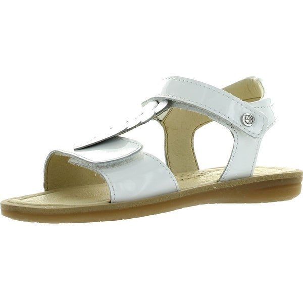 Naturino Girls 3951 Fashion Sandals - bianco/argento