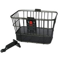 Evo E-Cargo Quick Release Dual Steel Mesh Traveler Bicycle Front Basket - HT-518