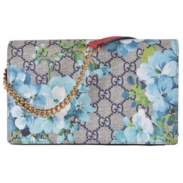 dec820aa0 Shop Gucci Women's 546368 BLOOMS Shoulder Bag Purse W/Card Slots ...