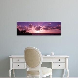Easy Art Prints Panoramic Images's 'Sunrise Maui HI USA' Premium Canvas Art