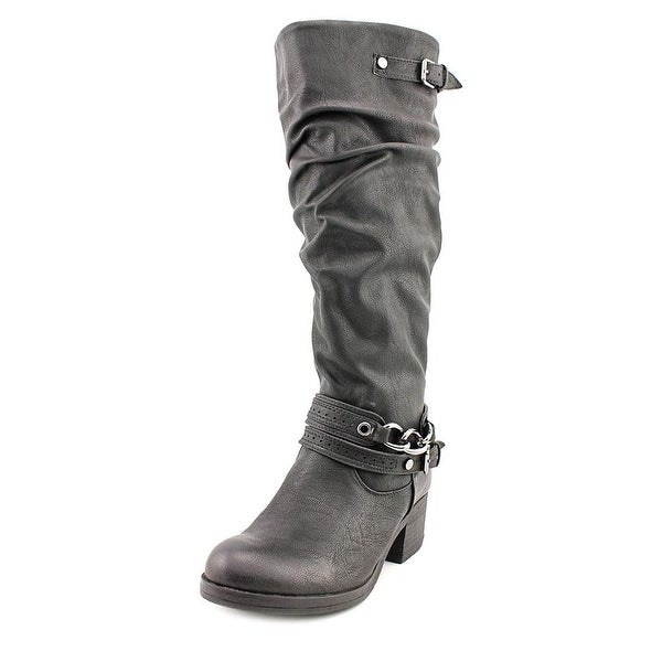 Carlos by Carlos Santana Cassie2 Round Toe Synthetic Knee High Boot