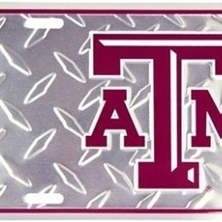 """Link to Texas A&M Aggies Ncaa """"Diamond"""" License Plate - M Similar Items in Fan Shop"""