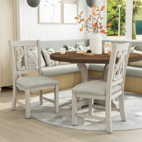 Furniture of America Sylmer Transitional Side Chairs (Set of 2)
