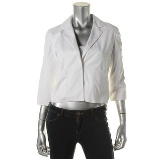 Rachel Rachel Roy Womens Solid 3/4 Sleeves Blazer