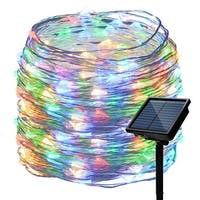 10M 33ft 100 LED Waterproof RGB multicolor Copper Starry String Lights For Wedding Party