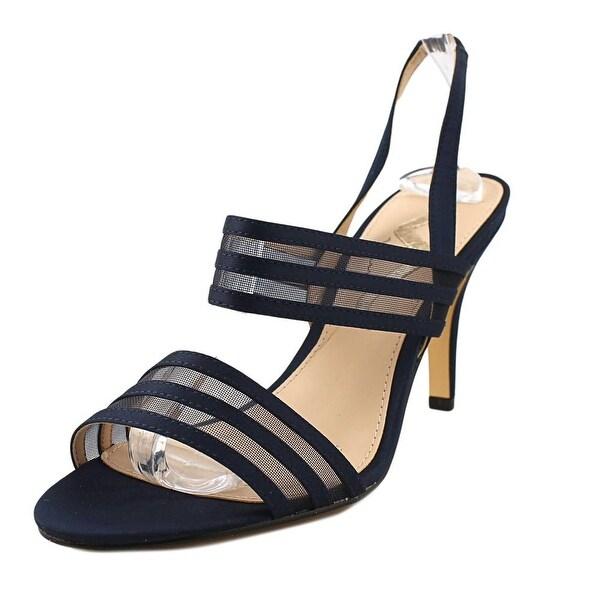 Nina Vallari Women Open Toe Synthetic Blue Sandals