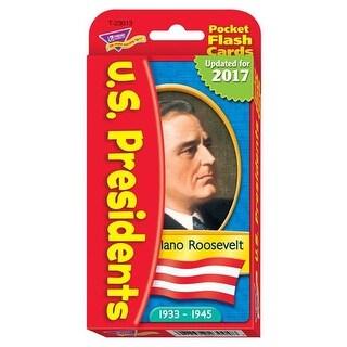 Presidents Pocket Flash Cards, 56 per Pack - Pack of 3