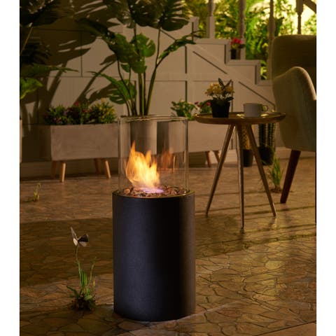 Danya B. 19-inch Indoor/ Outdoor Portable Tabletop Fire Pit