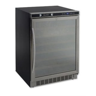 Avanti WCR5403SS 54 Bottle Built-In Wine Cooler - black/stainless stee