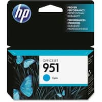 HP 951 Cyan Original Ink Cartridge (CN050AN)(Single Pack)