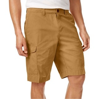 Tommy Hilfiger Mens Big And Tall Chino Cargo Shorts